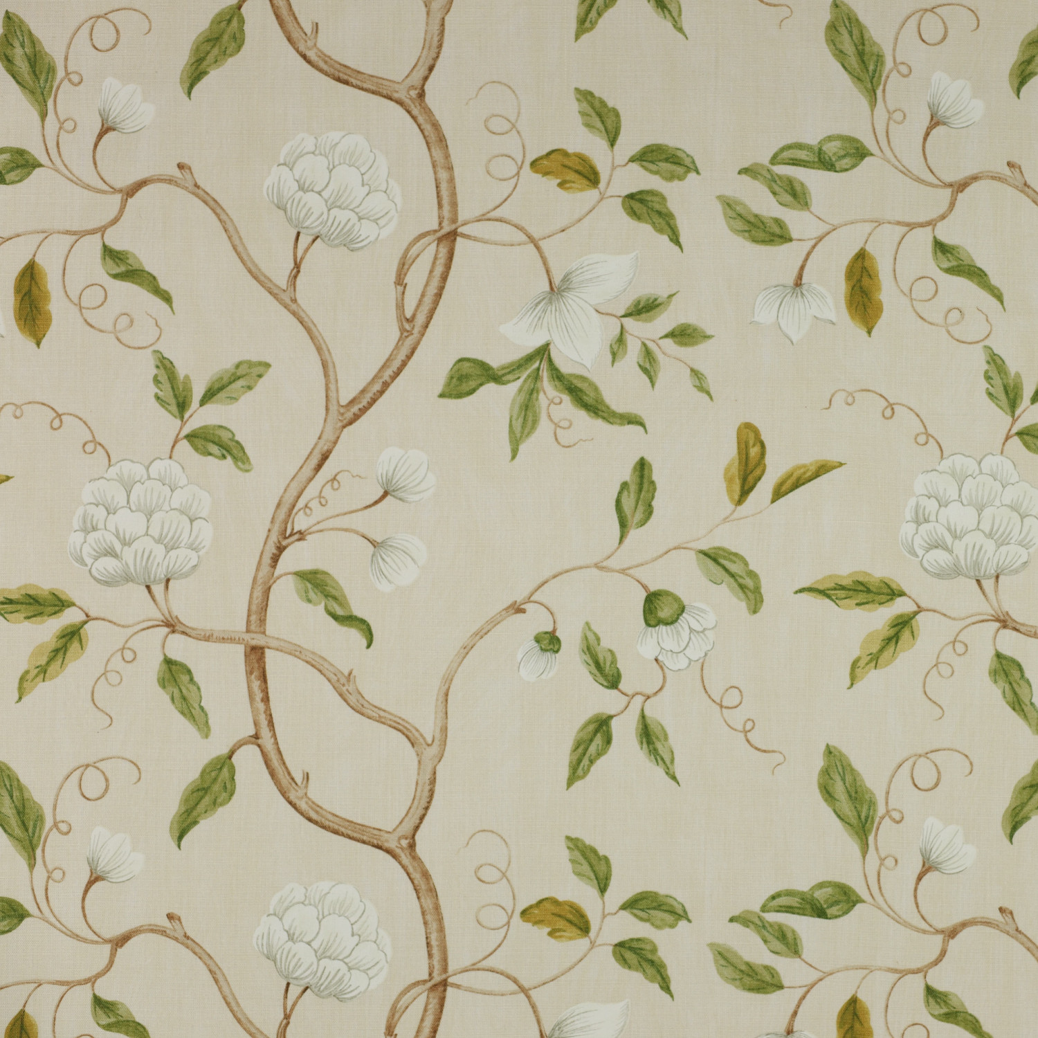Colefax and Fowler Stoff Snow Tree · Cream F3332/01