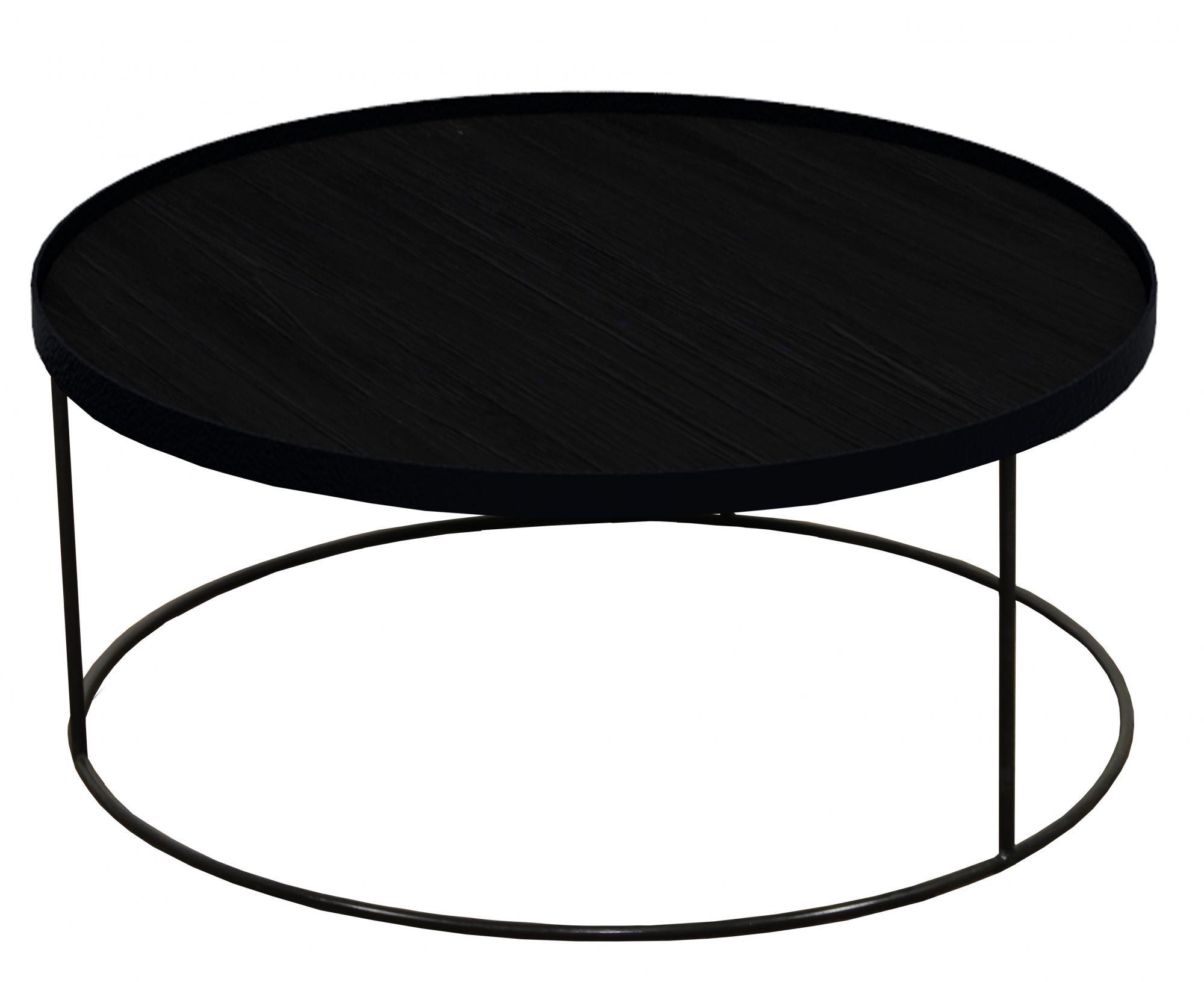 Notre Monde Tablett Tisch Tablett Tisch Niedrig Rund Xl