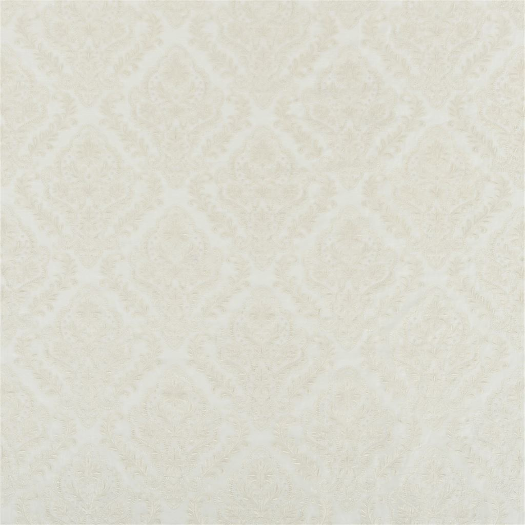 The Royal Collection Stoff Alexandrina Voile - Ivory FRC1005/01