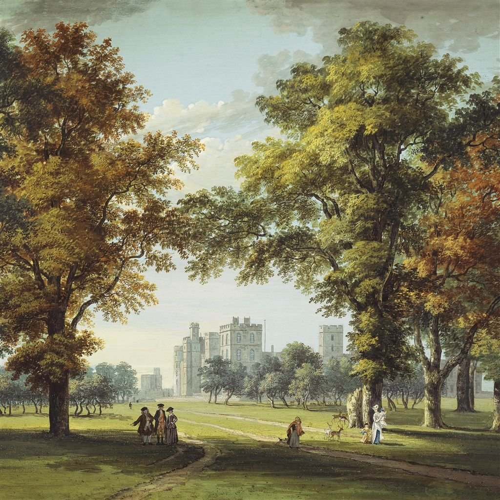 Royal Collection Tapete Great Park View - Moss · PRC669/01