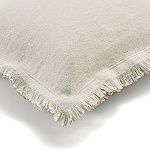 Elitis Kissen Karma baby (Snow et Flax) - 30x45cm - CO 142 02 04