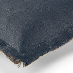 Elitis Kissen Karma baby (Navy blue et Flax) - 30x45cm - CO 142 49 04