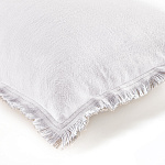 Elitis Kissen Karma baby (Real white et Flax) - 30x45cm - CO 142 01 04