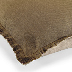 Elitis Kissen Big Karma (Kaki et Flax) - 65x65cm - CO 174 61 06