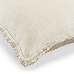 Elitis Kissen Big Karma (Snow et Flax) - 65x65cm - CO 174 02 06
